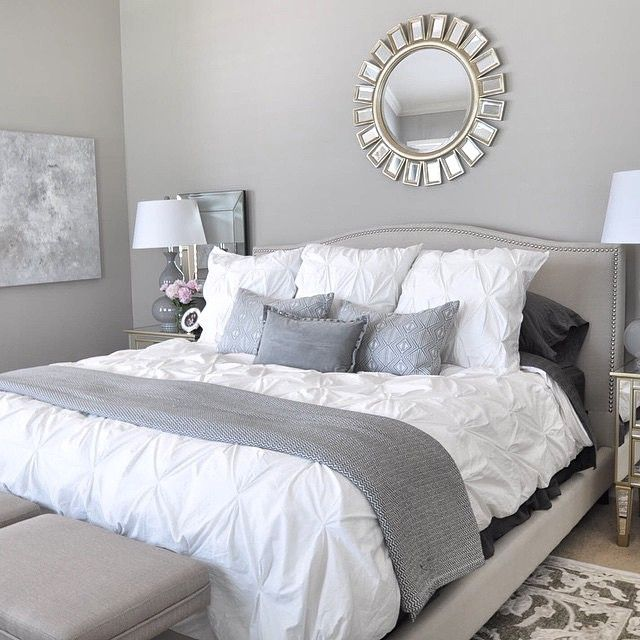 Affordable Grey And White Bedroom Ideas