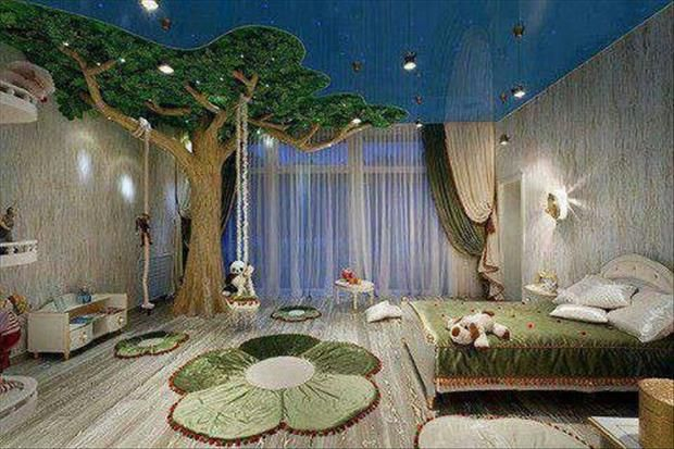 Awesome Nature Themed Bedroom Ideas