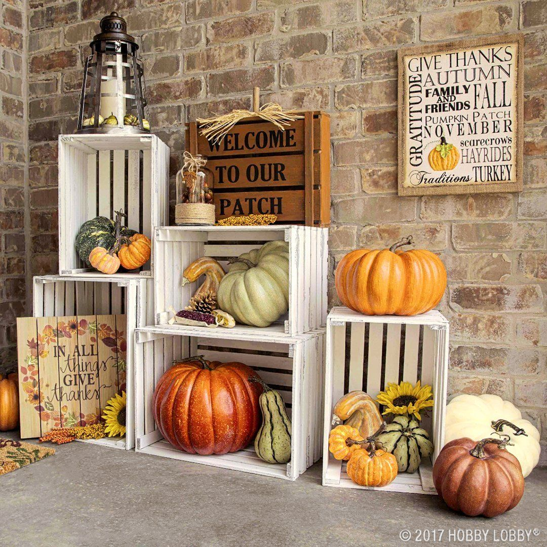 Affordable Front Porch Outdoor Fall Decor Ideas