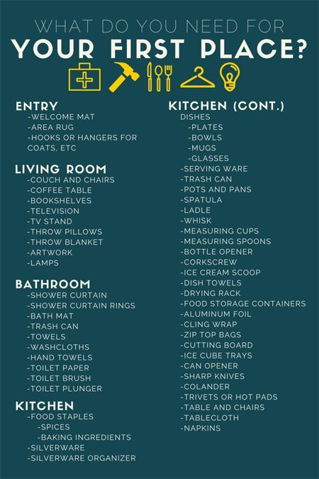 Popular Things You Need For An Apartment Ideas