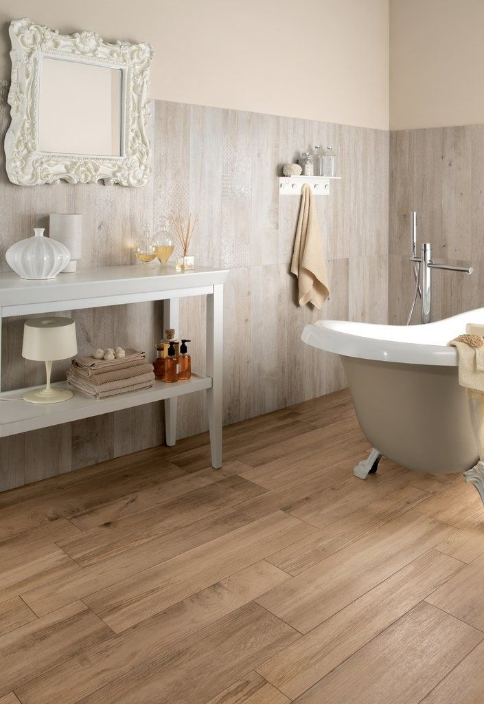 Wonderful Wood Tile Bathroom Floor Ideas