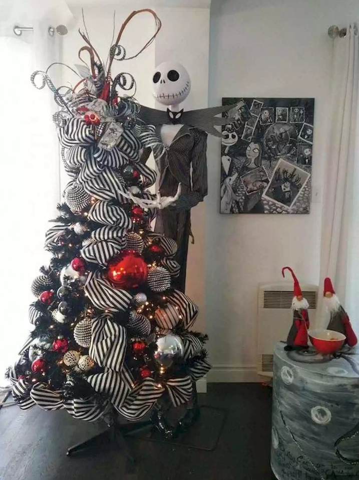 Awesome DIY Nightmare Before Christmas Decorations Ideas