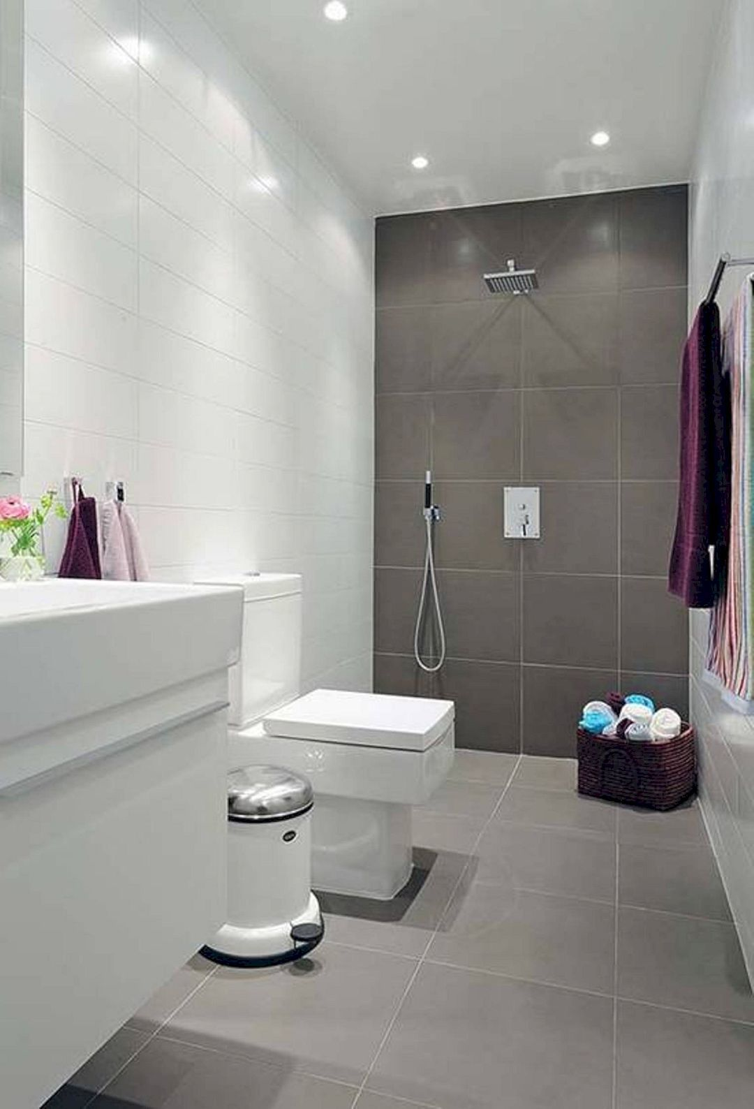 Gorgeous Small Bathroom Flooring Ideas