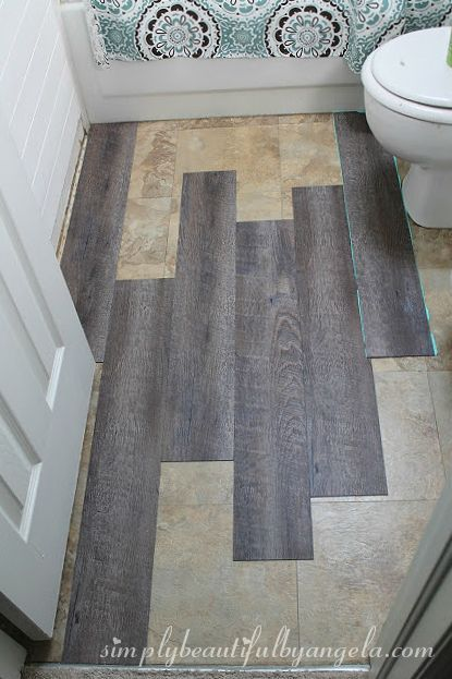 Awesome Peel And Stick Bathroom Tile Ideas