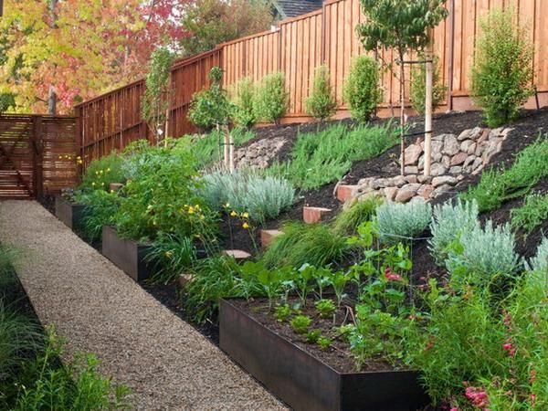 Awesome Steep Slope Garden Ideas